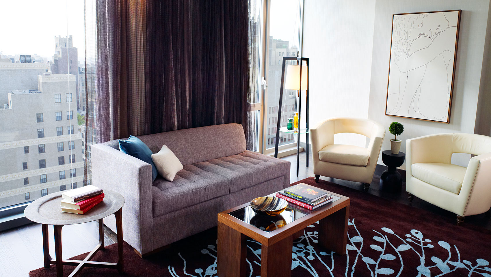 hotel accommodations at Kimpton Hotel Eventi