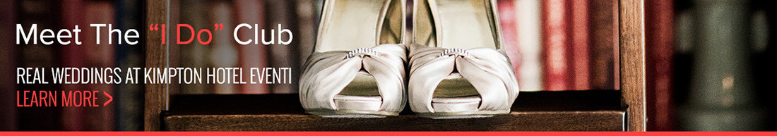 Kimpton Hotel Eventi's Real Wedding Bridal Shoes