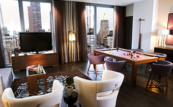 hotel suite in nyc